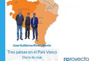Tres paisas en el País Vasco. Diario de viaje.