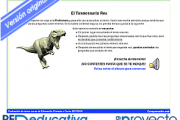 ¡El Tiranosaurio Rex!