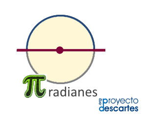 Medir ángulos en radianes