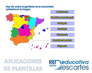 Gentilicios De Las Comunidades De España
