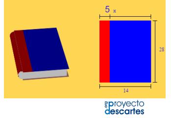 Aplicación de polinomios (áreas y volúmenes)