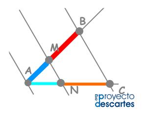 Proporcionalidad Geométrica