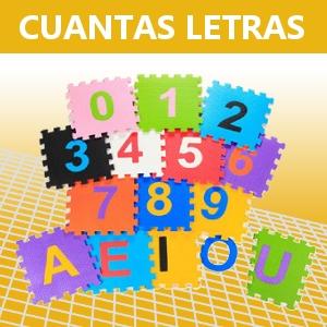 CUANTAS LETRAS