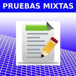 PRUEBAS MIXTAS