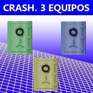CRASH. 3 EQUIPOS
