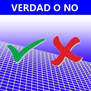 VERDAD O NO