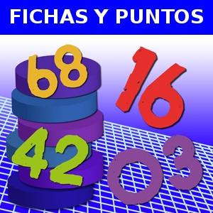 FICHAS Y PUNTOS
