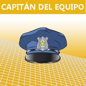 CAPITÁN DEL EQUIPO
