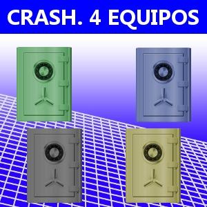 CRASH. 4 EQUIPOS