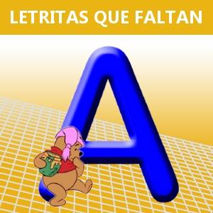 LETRITAS QUE FALTAN