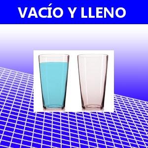 VACÍO Y LLENO