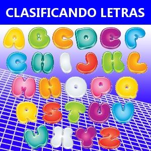 CLASIFICANDO LETRAS