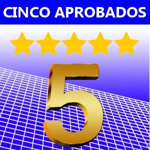 CINCO APROBADOS