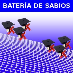 BATERÍA DE SABIOS